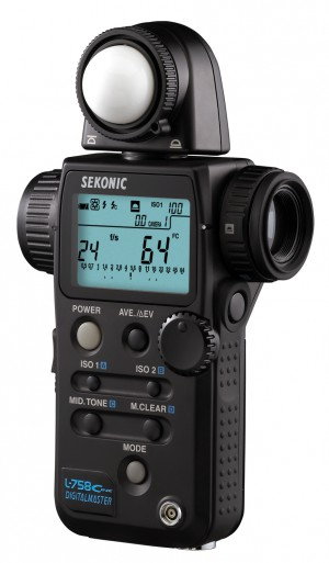 A top-grade light meter like the Sekonic L-758 costs almost as much as a mid-range DSLR.
