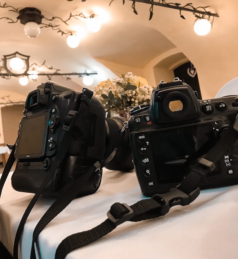 What Should You Take to Weddings - setup