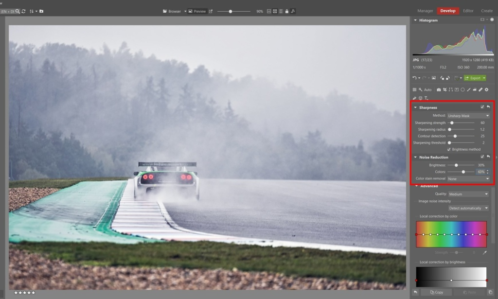 How to Edit Car Racing Photos