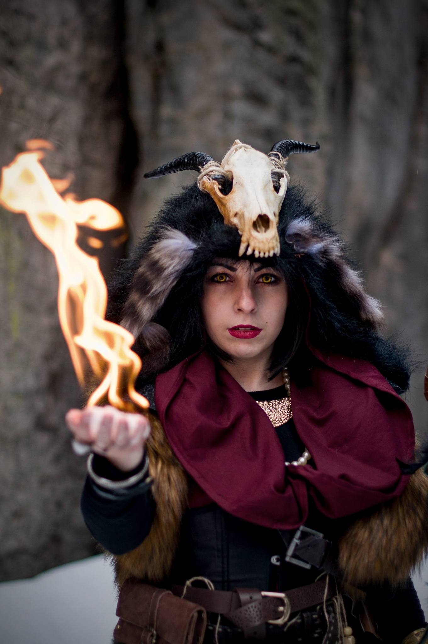 How to Photograph a Cosplay - witch cosplay