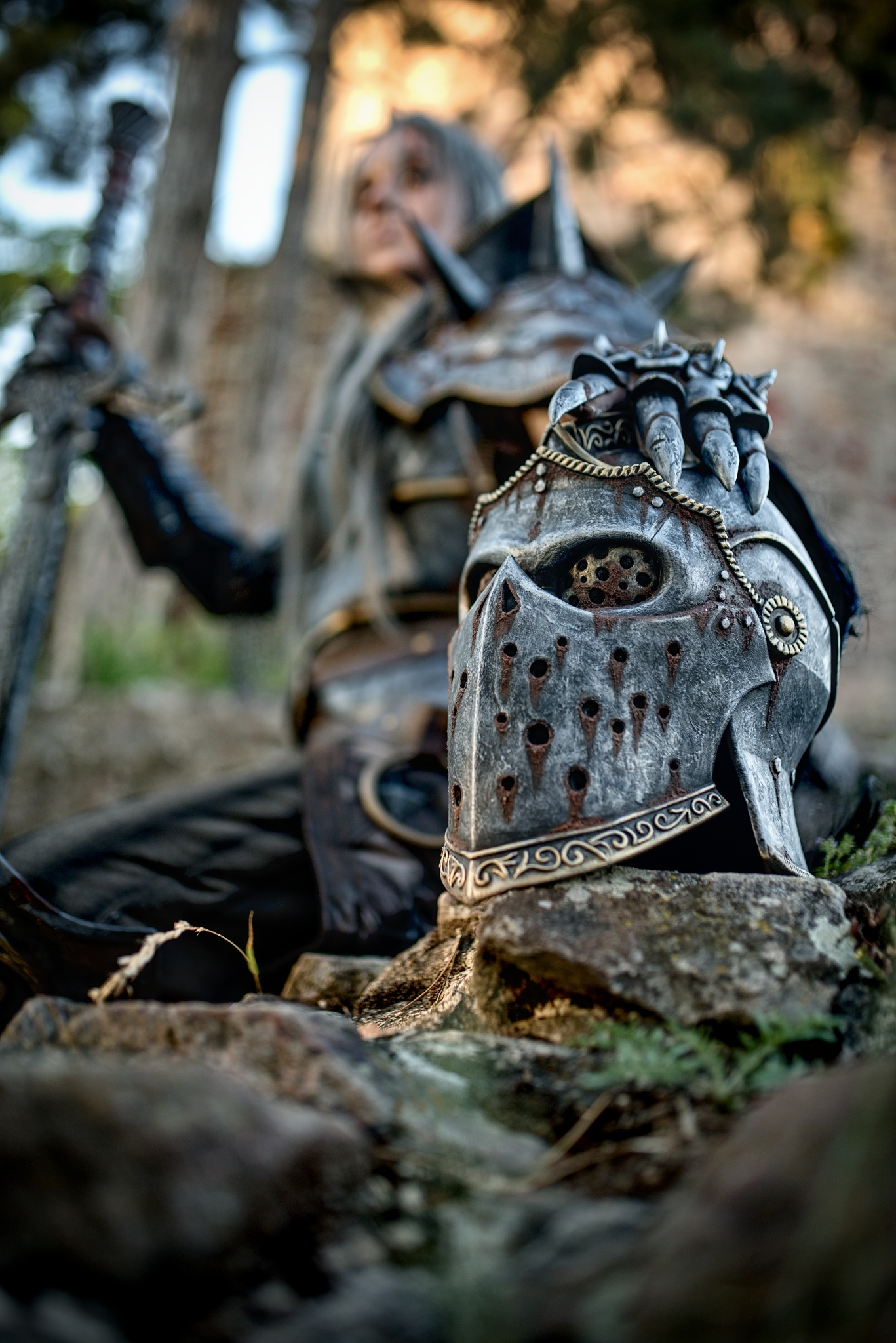 How to Photograph a Cosplay - a knight