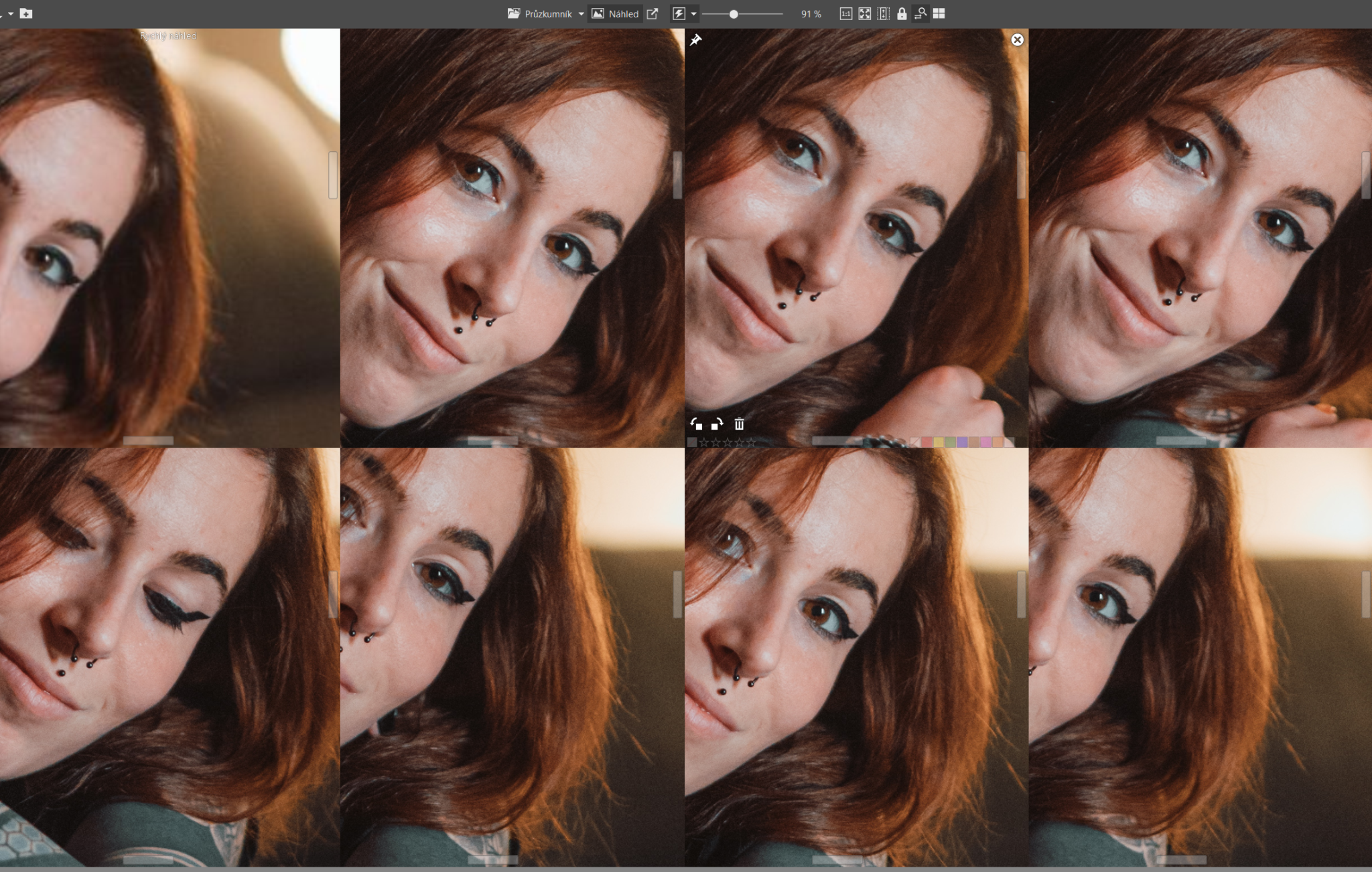 Don't know how to choose the best photo? Use Batch Selection!